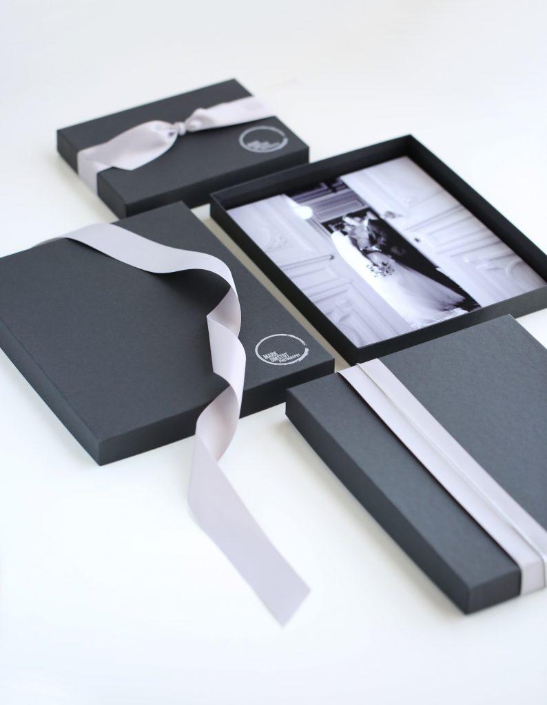 Matte Black Portrait Box